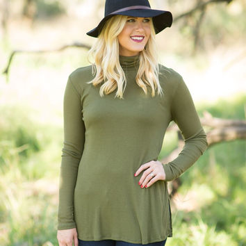 Walk the Wire Top - Olive