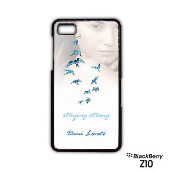 Demi Lovato Staying Strong for Blackberry Z10/Q10 phonecase