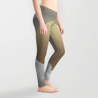 Nothing Gold Can Stay (Stay Gold) Leggings by Soaring Anchor Designs