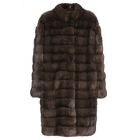 manzoni 24 - barguzin sable fur coat