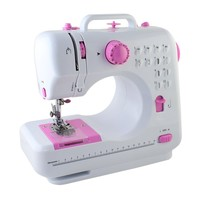 Mini Sewing Machine, Nex® LSS-505 Free-Arm Sewing Machine with 12 Built-In Stitches