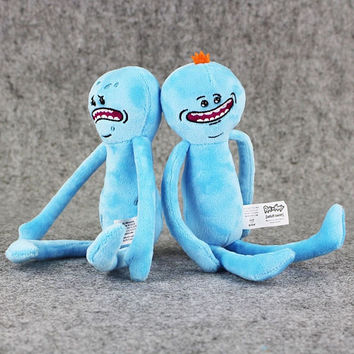 Rick And Morty-happy & Sad Mr. Meeseeks Stuffed Plush Toy