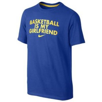 Nike Basketball Is My Girlfriend T-Shirt - Boys' Grade School at Eastbay