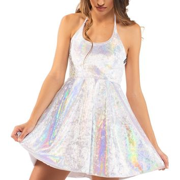 Sk8r Dress in Moon Rock