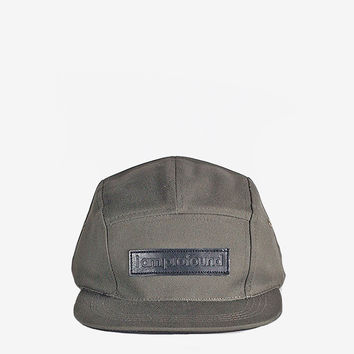 I AM PROFOUND Five Panel Hat in Olive