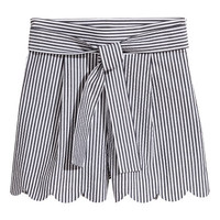 H&M Shorts with scalloped hems $49.99