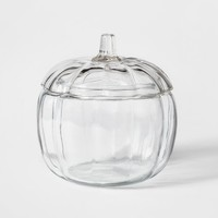 70oz Halloween Glass Pumpkin Jar with Lid