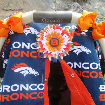 Car seat cover Denver Broncos Daddys Girl Addition