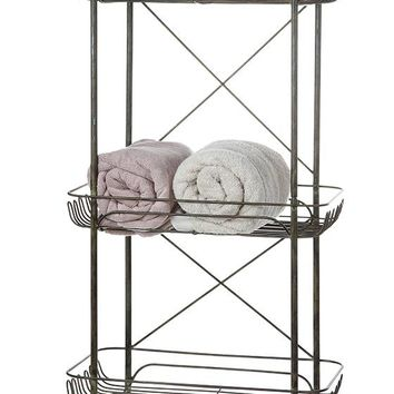 Emsley Three-Tier Basket - General Organization - Storage & Organization - Storage & Display | HomeDecorators.com