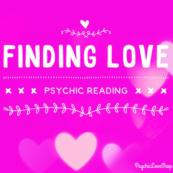 Finding Love Psychic Reading, Psychic Reading, Love Reading, Looking for love, in-depth and accurate, email or etsy convo reading