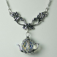 Victorian Dangle Necklace 19.5""