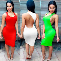 Womens Summer Style Sexy Party Night Club Dress