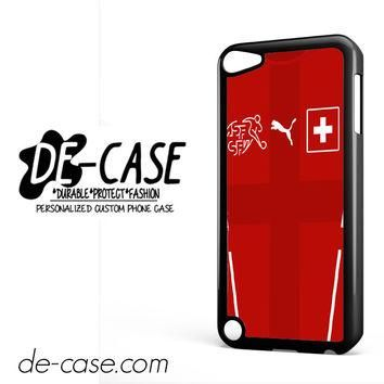 Switzerland Soccer Jersey For Ipod 5 Ipod Touch 5 Case Phone Case Gift Present YO
