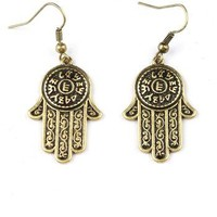 Hamsa Earrings | Earrings at Pink Ice