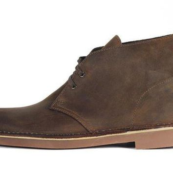 DCCKLP2 Clarks for Men: Bushacre 2 Beeswax Boot