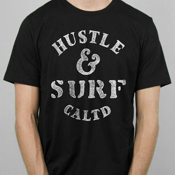 Hustle and Surf Tee