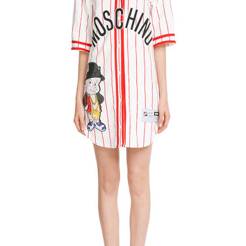 Moschino - Baseball Jersey T-Shirt Dress