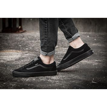 Vans Vault x WTAPS LC09 All Black Sneaker Casual Shoes