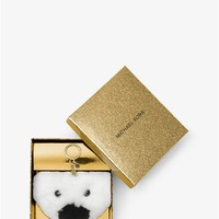 Teddy Bear Fur Keychain | Michael Kors