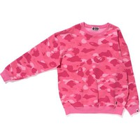 COLOR CAMO OVERSIZED CREWNECK L