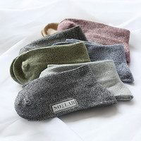 Korean Socks Cotton Vintage Needles [6364144644]