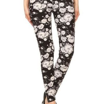 Floral Super Soft Leggings