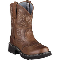 10000860 Ariat Women's Fatbaby Saddle Western Boot from Bootbay, Internet's Best Selection of Work, Outdoor, Western Boots and Shoes.