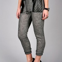 Marled Quilt Sweats