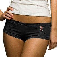 Texas Tech Red Raiders Ladies Black College Hot Shorts
