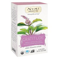 Numi Tea Organic Herb Tea - Gratitude - Case Of 6 - 16 Count