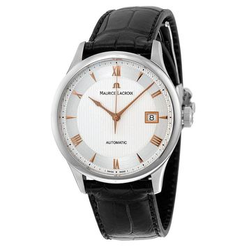 Maurice Lacroix Masterpiece Date Automatic Mens Watch MP6407-SS001-110