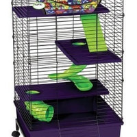 SMALL ANIMAL - CAGES - MY FIRST HOME 2X2 MLTI FL/STND - NEW APR 2015 - CENTRAL - SUPER PET/PETs INTL - UPC: 45125602487 - DEPT: SMALL ANIMAL PRODUCTS