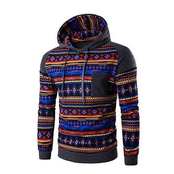 Patchwork Design 3D Ethnic Tribal Printed Hoodies Men Fashion Print Sweatshirt Man Hoody jacket Male Pullovers Tracksuit 800125