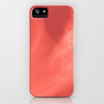 Coral gradient iPhone Case by duckyb