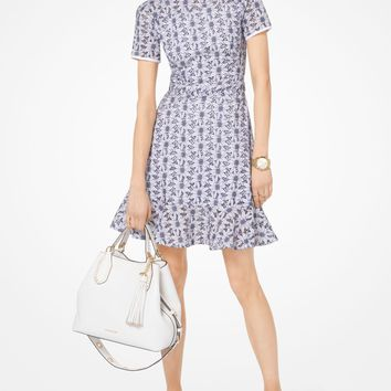 Daisy Embroidered Eyelet Dress | Michael Kors