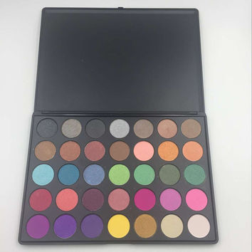 Brand 35 o B C T W Eyeshadow Morphe  Palette  Matte Eye shadow Full Professional Makeup Kit Beauty Make up Set