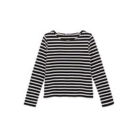 Women'S Iconic Mariniere In Heavy Jersey | Petit Bateau US Official Online Store