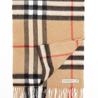 Burberry Giant Icon Check Cashmere Scarf | Bloomingdales's