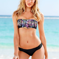 Fringe Bandeau - Beach Sexy - Victoria's Secret Swimwear