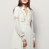 Free People In Dreamland Mini Dress