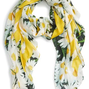 kate spade new york 'oops a daisy' oblong scarf | Nordstrom