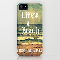 Life's a Beach iPhone Case by Caleb Troy | Society6