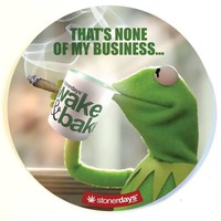 NONE OF MY BUSINESS DAB MAT