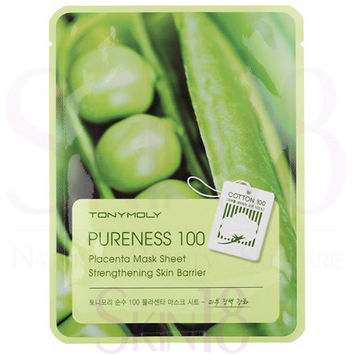 TonyMoly Pureness 100 Placenta Sheet Mask - Strengthening Skin Barrier