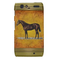 Brown Horse Droid RAZR Cover
