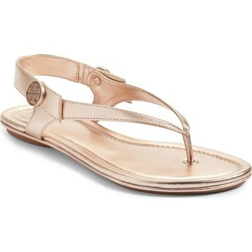 Tory Burch Minnie Travel Thong Sandal (Women) | Nordstrom