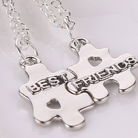 Best friend necklace pendant