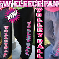 Volleyball Sweatpants - Block Print