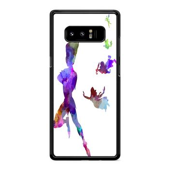 Peter Pan In Watercolor Samsung Galaxy Note 8 Case