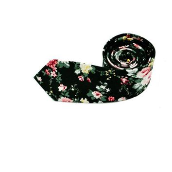Men's Fashion Floral Necktie